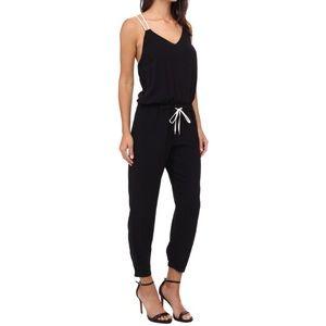 Splendid black and white jumpsuit